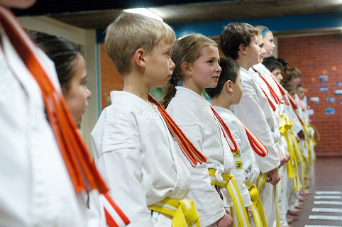 Karate Grading belts